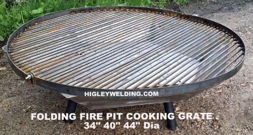 Folding Fire Pit Grate. www.HigleyFirePits.com - Folding Fire Pit Grate. Www.HigleyFirePits.com Fire Bowl Fire