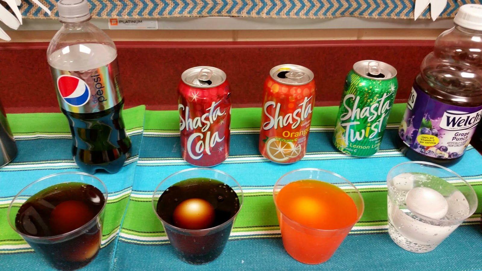 First Grade Funtastic Dental Health Egg Experiment