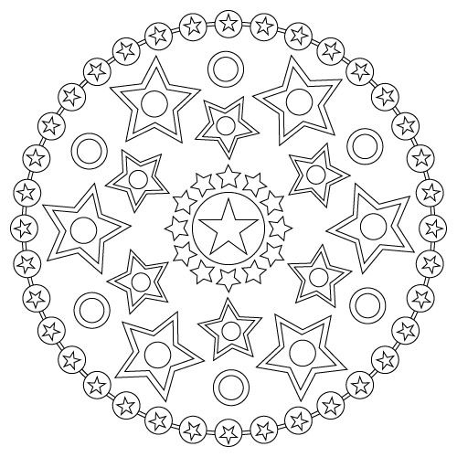 mandala c kerstin weihe non commercial use only templates patterns printables. Black Bedroom Furniture Sets. Home Design Ideas