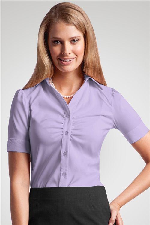 Victoria Blouse Stylish Corporate Uniforms Career Apparel Basic Blouse Designs Basic Blouses Corporate Uniforms