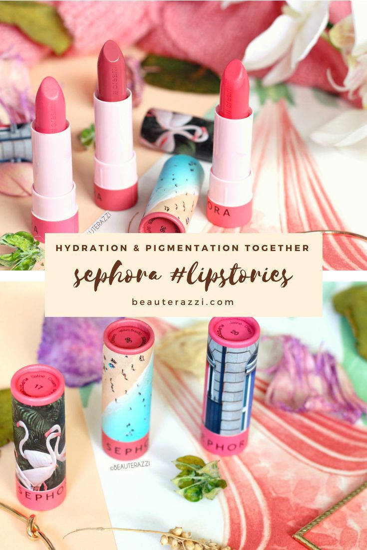 Sephora Lipstories Lipstick Review & Swatches