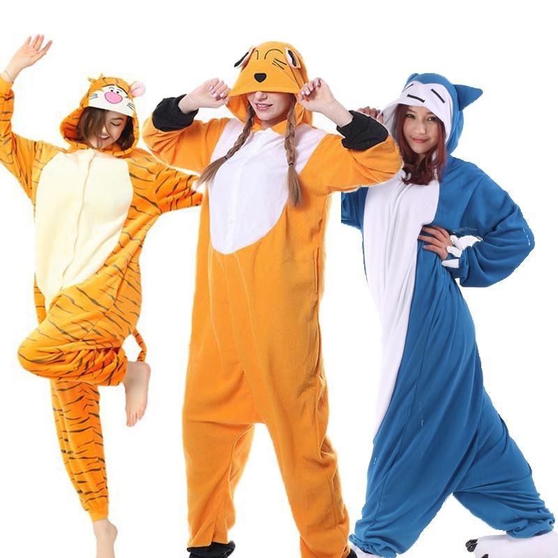 Unisex Adult Pajamas Sets Animal Cosplay Stitch Snorlax Winter Pijama Onesie  Hooded Sleepwear Nightie Christmas for Women Men. Yesterday s price  US   13.72 ... c4676a468