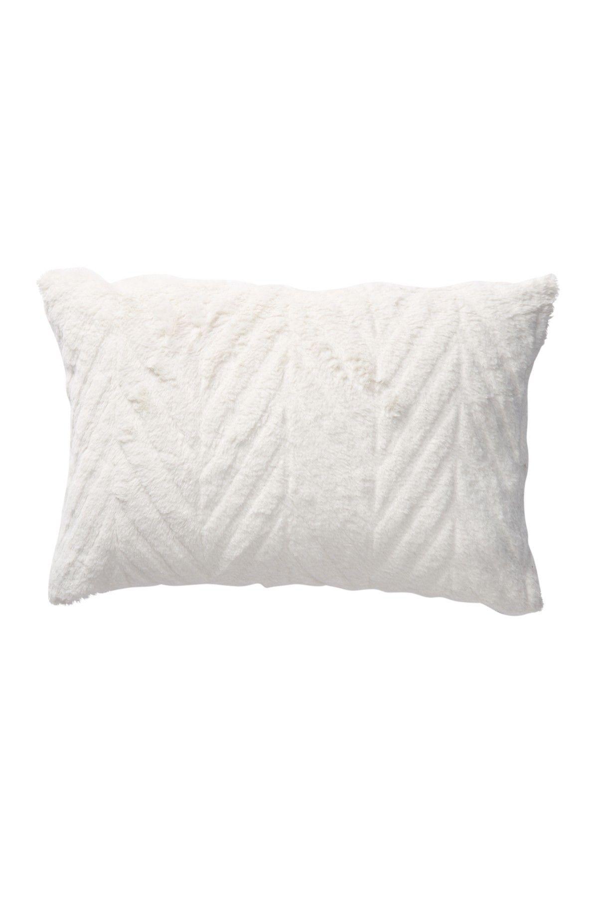 487ff6c99ee Chevron Faux Fur Pillow - 14x20