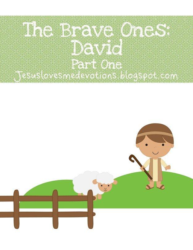 Free Devotional- King David {Part One   Ilustraciones biblicas ...