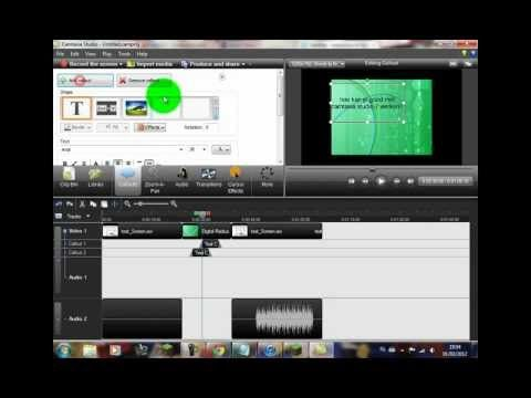 Aflevering 01 - Werken met Camtasia Studio 7