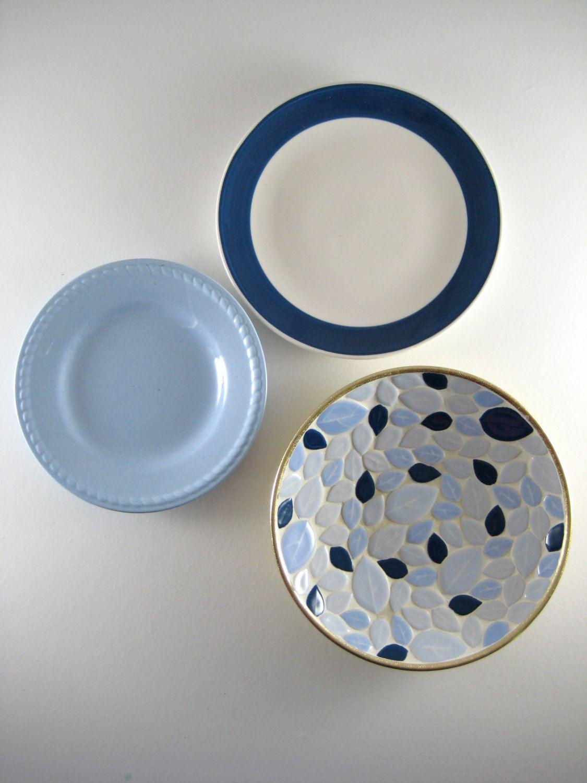 Decorative Wall Plates Set reserved kitchen wall decor, decorative plates, farmhouse decor