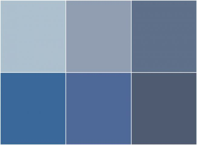Perfect Wandfarbe Taubenblau Nuancen Grau Blau Ral