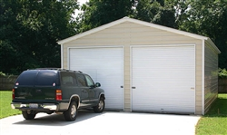 Best 22X26 Vertical Roof Metal Garage Ct Ma De Dc In Md 400 x 300