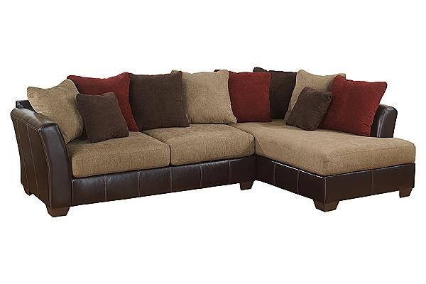 Ashley Furniture 2 Piece Sectional zenfield bedroom bench | sanya, seat cushions and upholstery