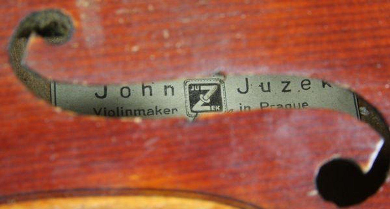 S 30s John Juzek Violin