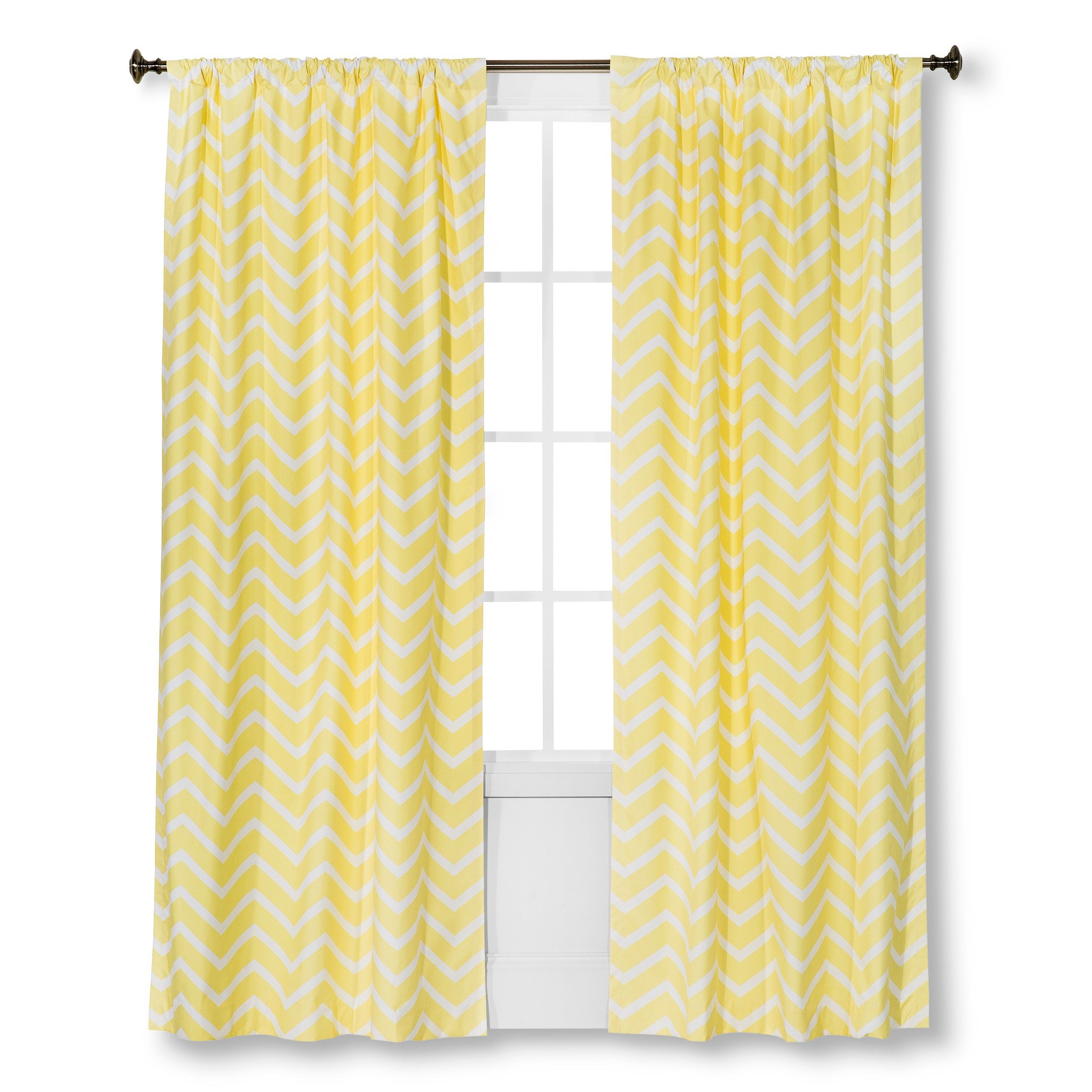 Circo™ Curtain Panel Chevron Print : Target