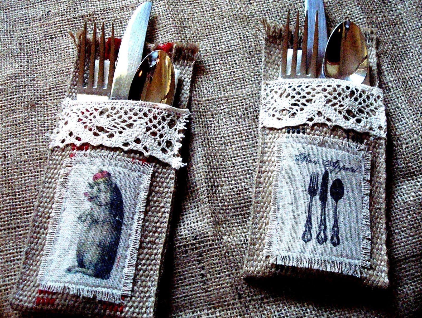 silverware holders....cuteness