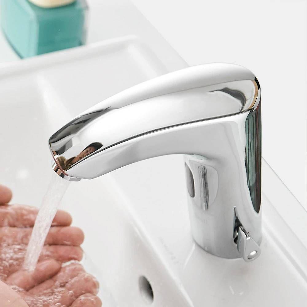 bathroom faucet electric automatic