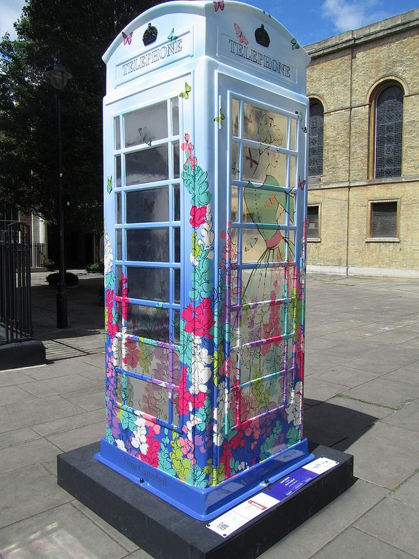 Uk London Bt Artbox Campaign Chatterbox With Images London