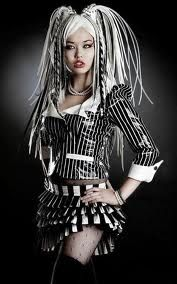 Angelspit industrial cyber goth... love her hair as always
