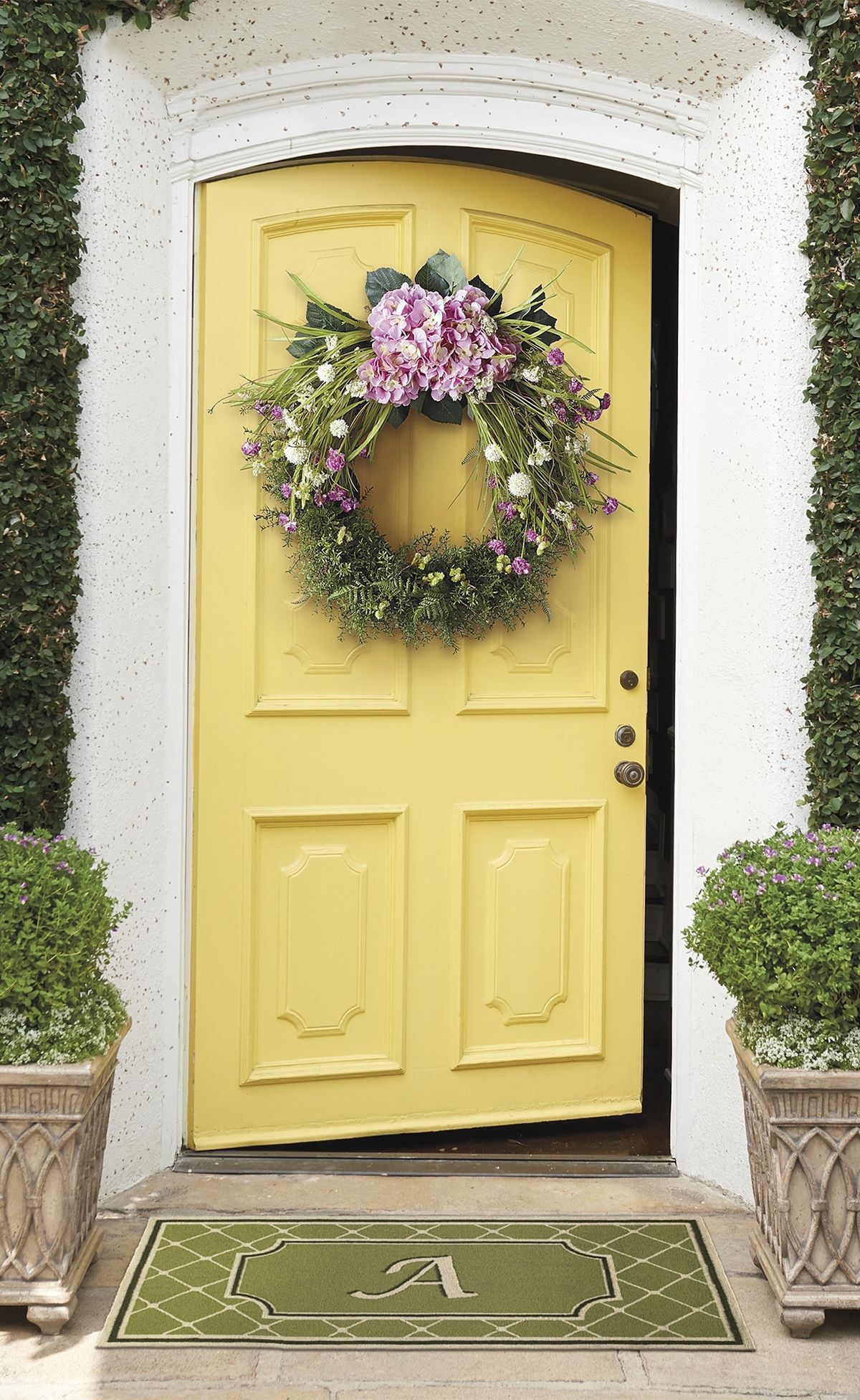 Farmhouse Wreaths For Front Door
