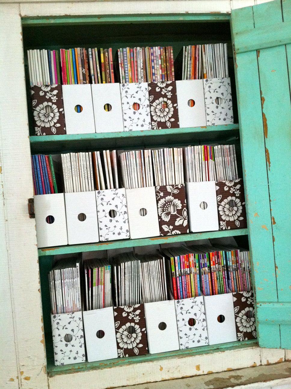 Magazine Storage Magazine Storage Magazine Organization Sheet Music Storage
