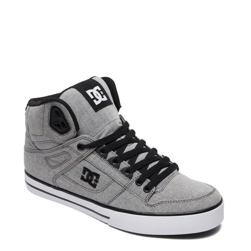 Scarpe Uomo Skate DC Shoes Net SE 2019 Bianco Nero White Black Schuhe Chaussures