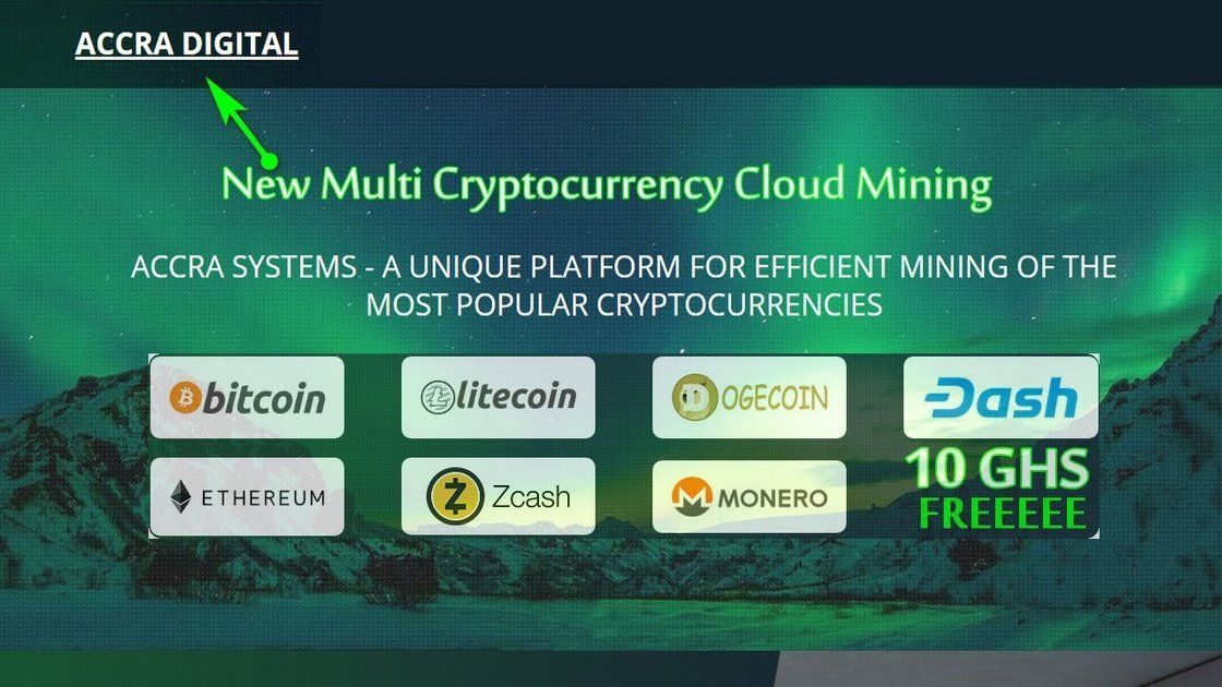 ACCRA DIGITAL : The Best Real Cryptocurrency Cloud Mining Website