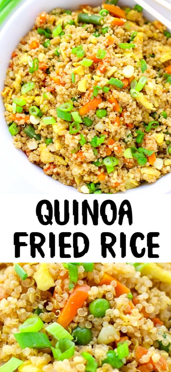 Photo of QUINOA FRIED RICE