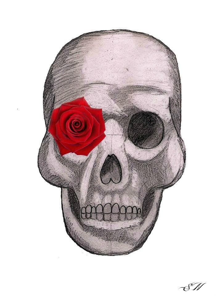 #Skull - #drawing #art