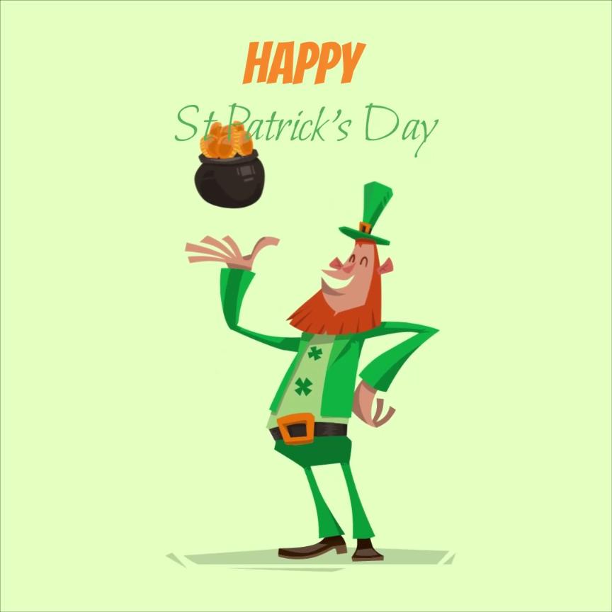 Free St Patrick S Day Templates Social Media Free Templates