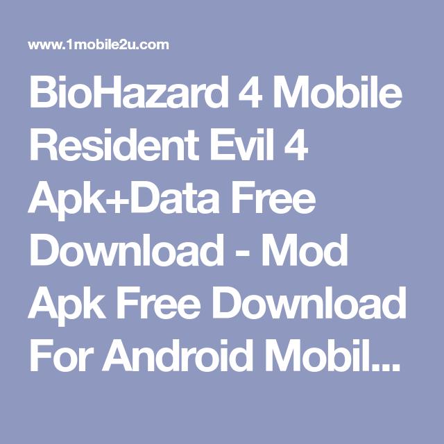 biohazard 4 mobile resident