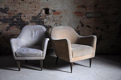 Interior design recupero poltroncine vintage da salotto - Poltroncine di design ...