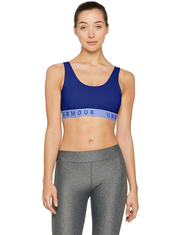 81784675350e7 Amazon.com  Under Armour Women s Favorite Cotton Heathered Everyday Sports  Bra  Under Armour