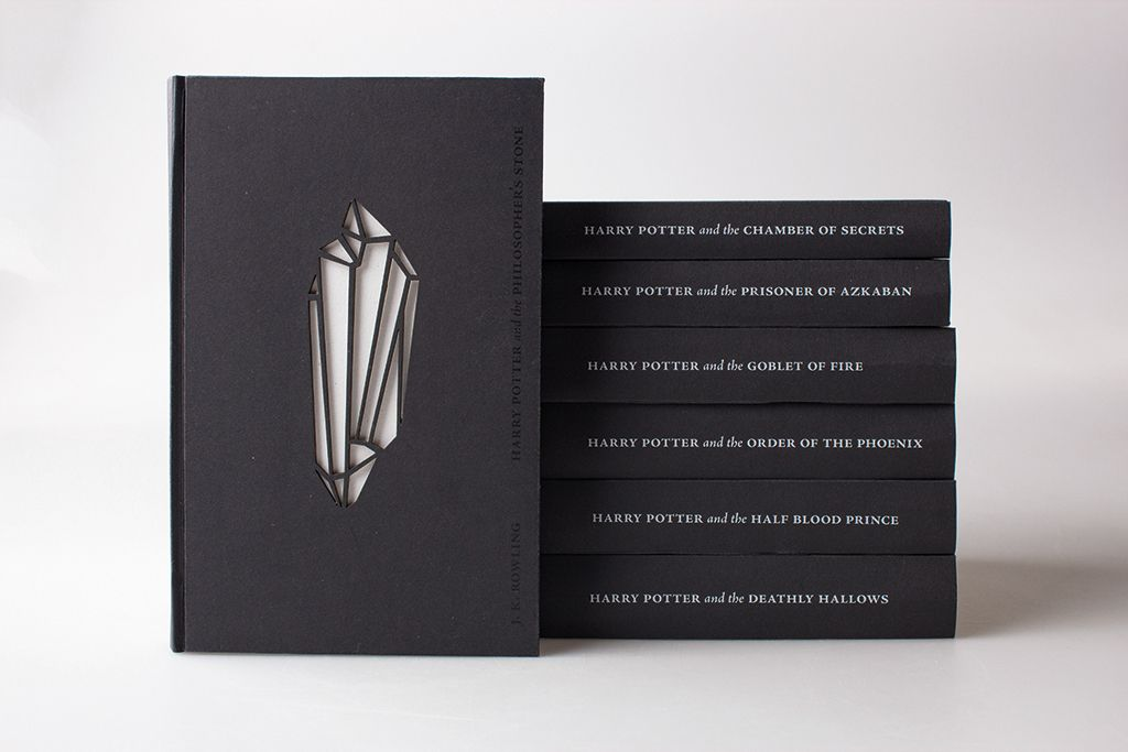 Jaw-Dropping Redesign of 'Harry Potter' Book Covers. - Simple Thing Called Life