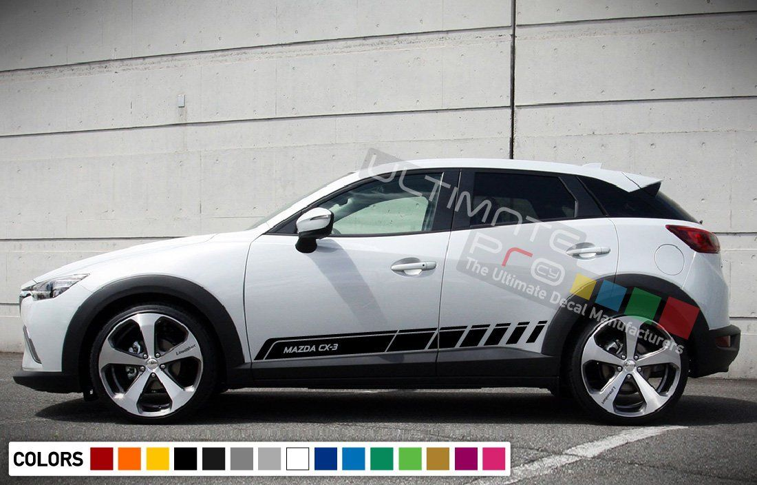 set of Stripe Kit Decal Sticker Graphic Compatible with