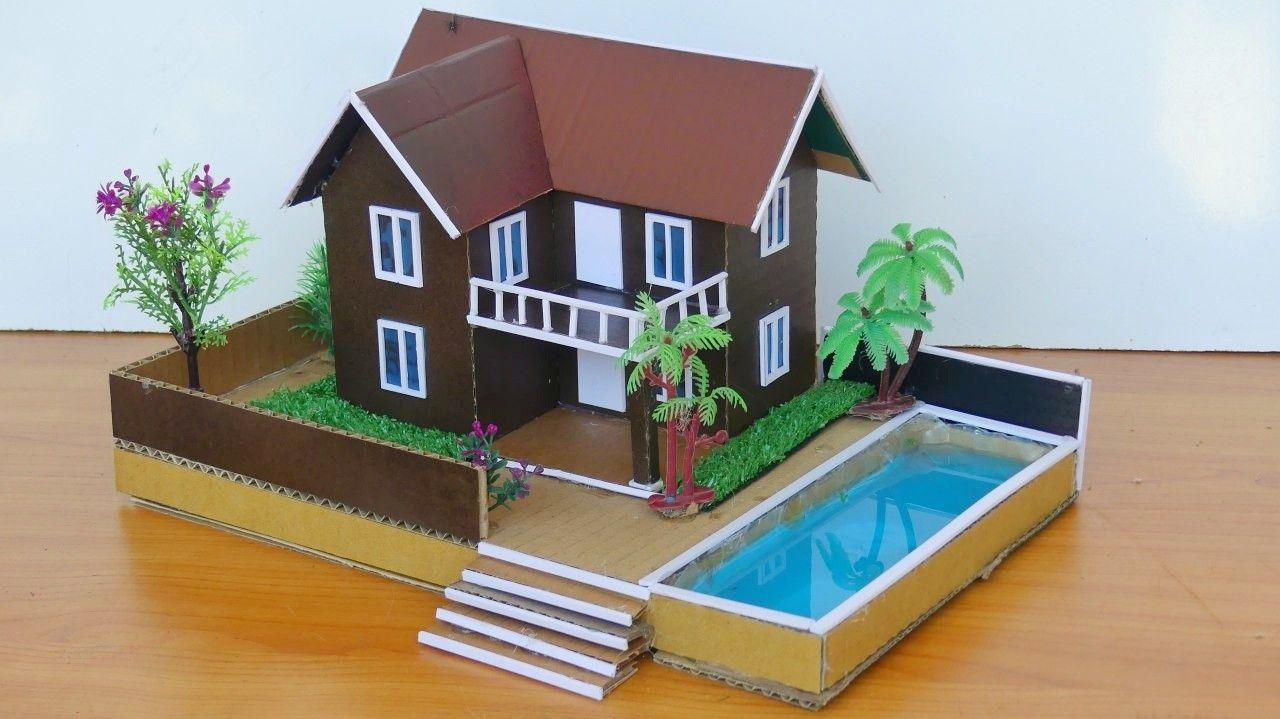 Easy Cardboard Crafts Diy Cardboard Box Houses Cardboard House Cardboard Crafts Diy