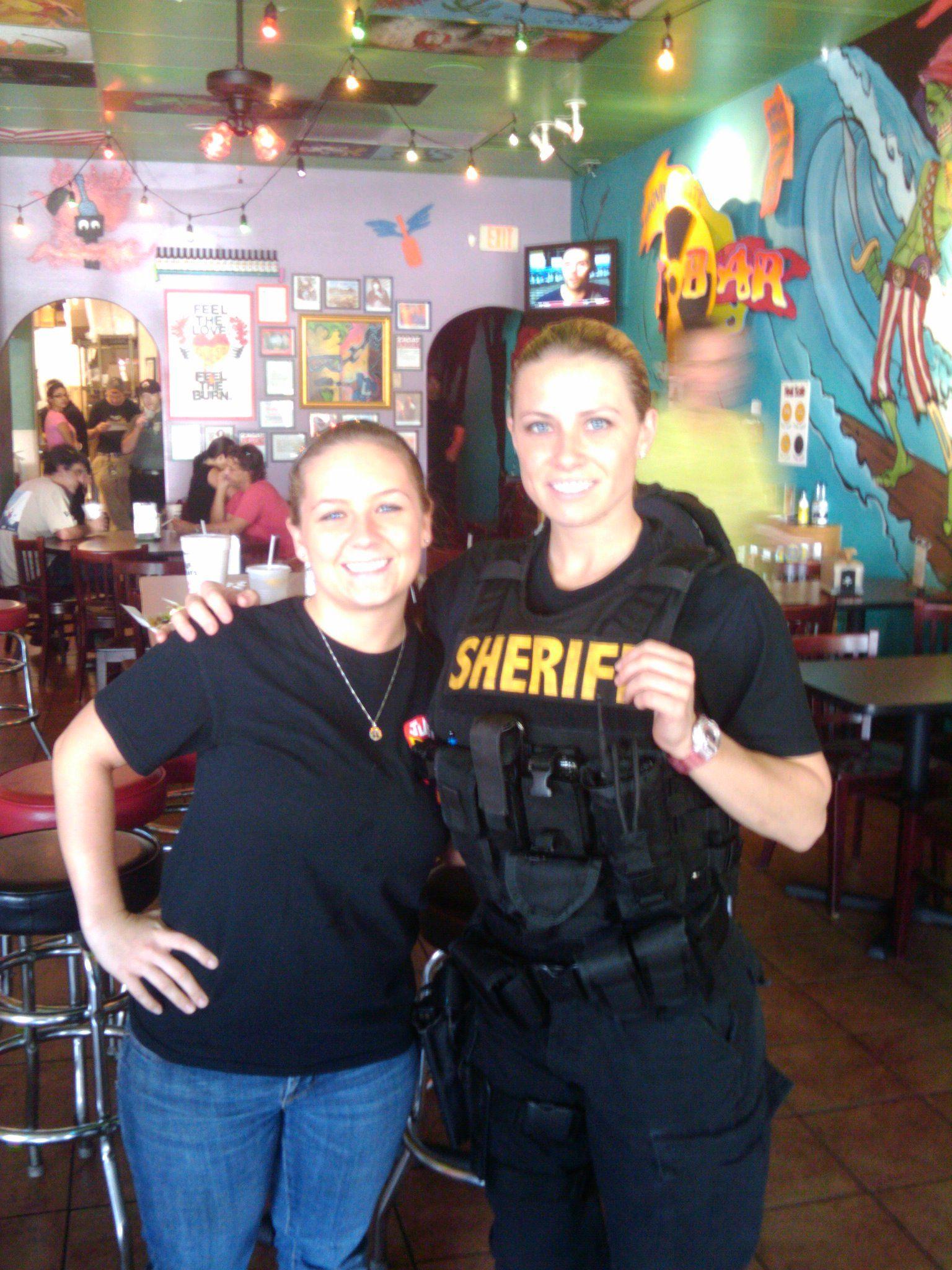 andrea penoyer  police women of broward county  at tijuana