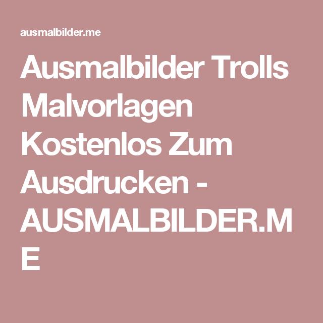 ausmalbilder trolls malvorlagen kostenlos zum ausdrucken