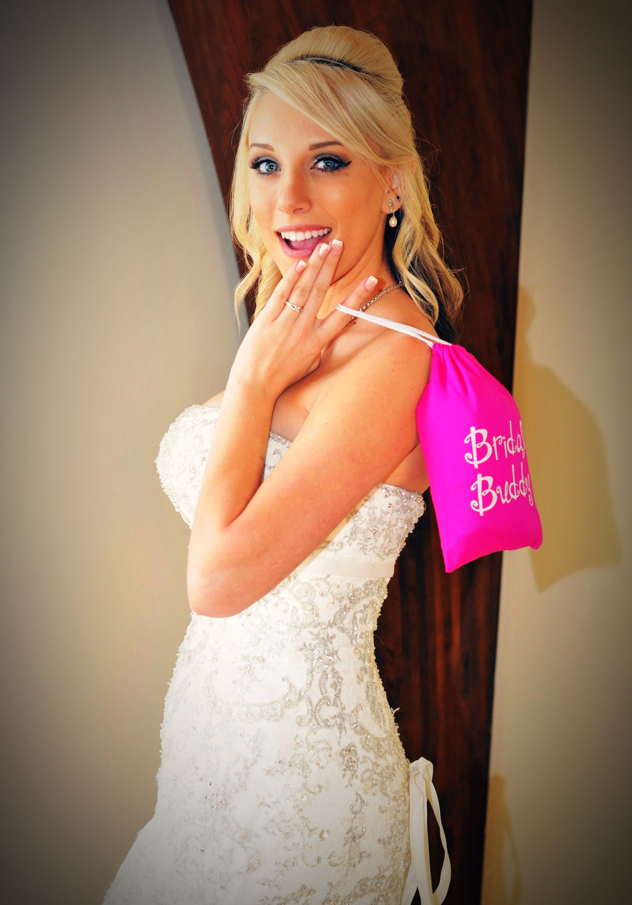 Bridal Buddy can be used with any style gown! bridalbuddy