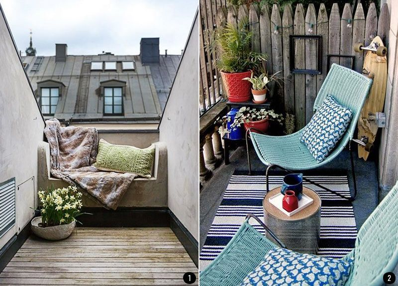 decoracin de terrazas patios balcones y jardines que enamoran conkanseicom - Decoracion Balcones