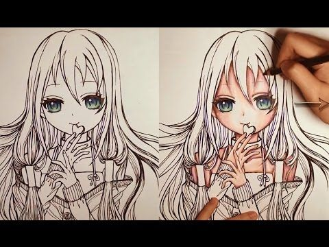How to Color Skin Step by Step Prismacolor Premier Soft Core Colored ...