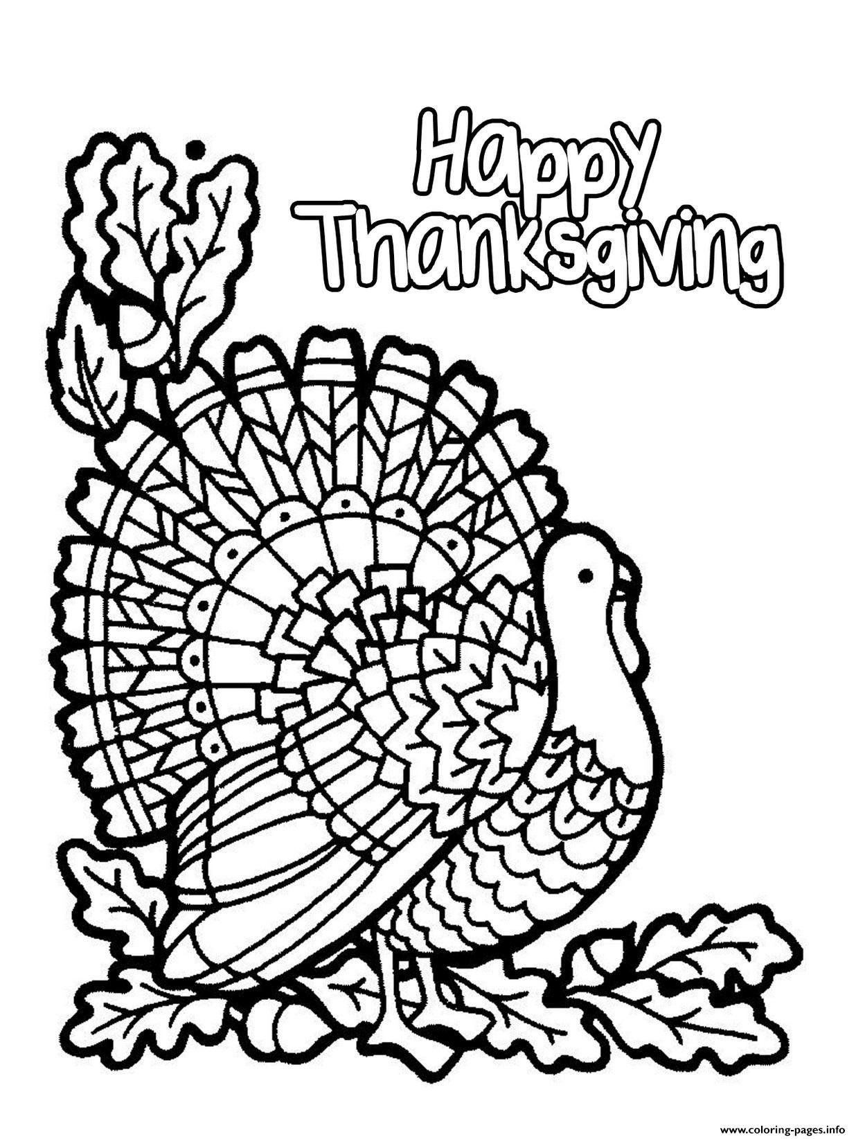 Happy Thanksgiving Coloring Pages Inspirational Coloring Pages Printable Coloring Turkey Coloring Pages Thanksgiving Coloring Book Thanksgiving Coloring Pages [ 1645 x 1236 Pixel ]