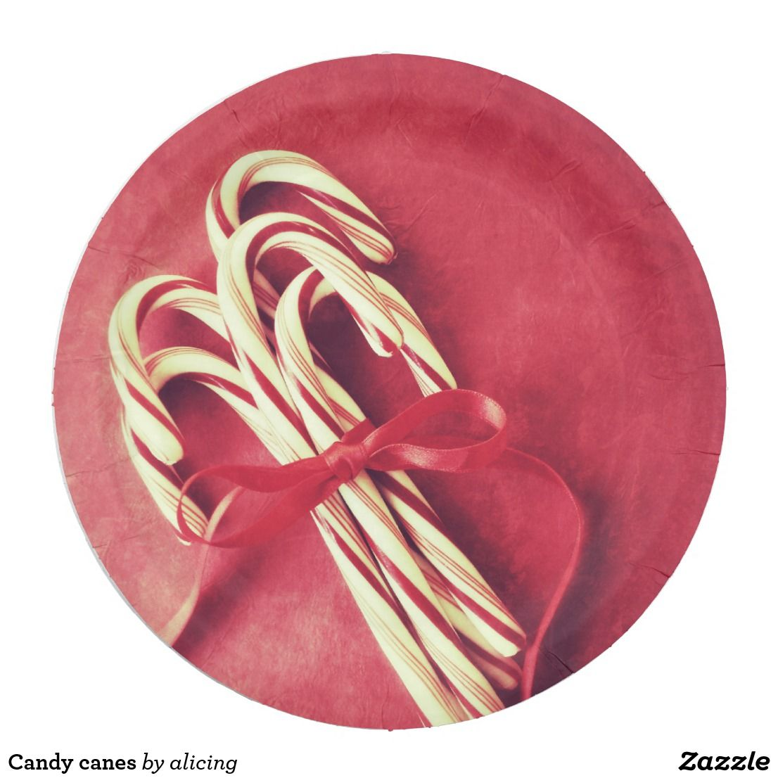 Candy canes  sc 1 st  Pinterest & Candy canes paper plate | Candy canes