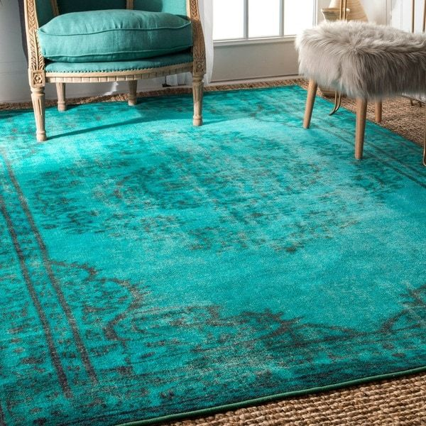 6 X 9 Blue Area Rugs The