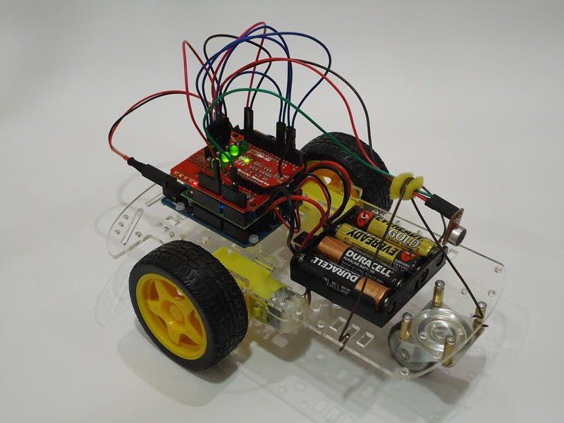 how to make a homemade robot arm