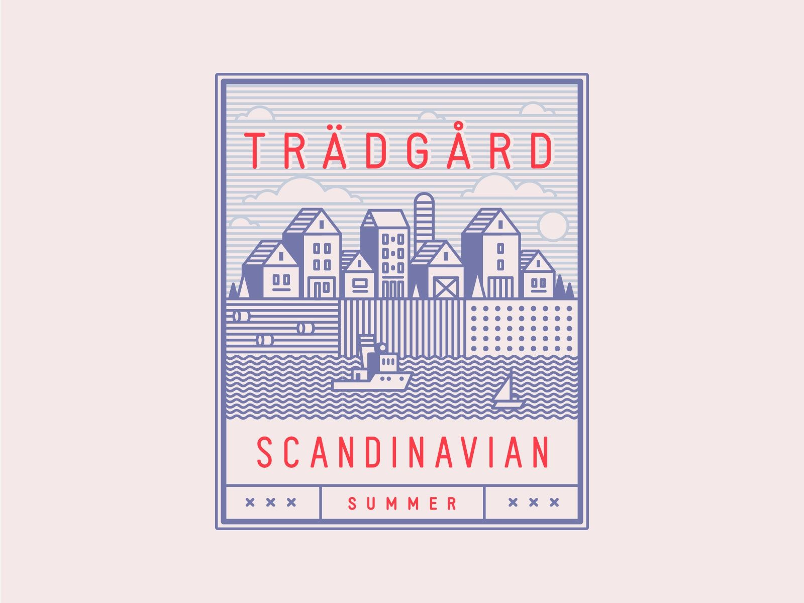 Scandinavian Summer Vector Set by Pixelbuddha