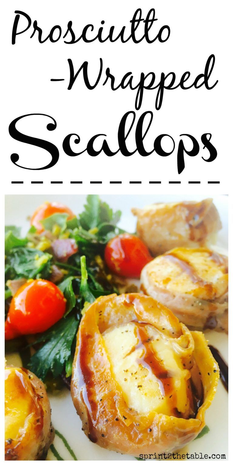 Photo of Prosciutto-Wrapped Scallops with Balsamic [Recipe] | Sprint 2 the Table