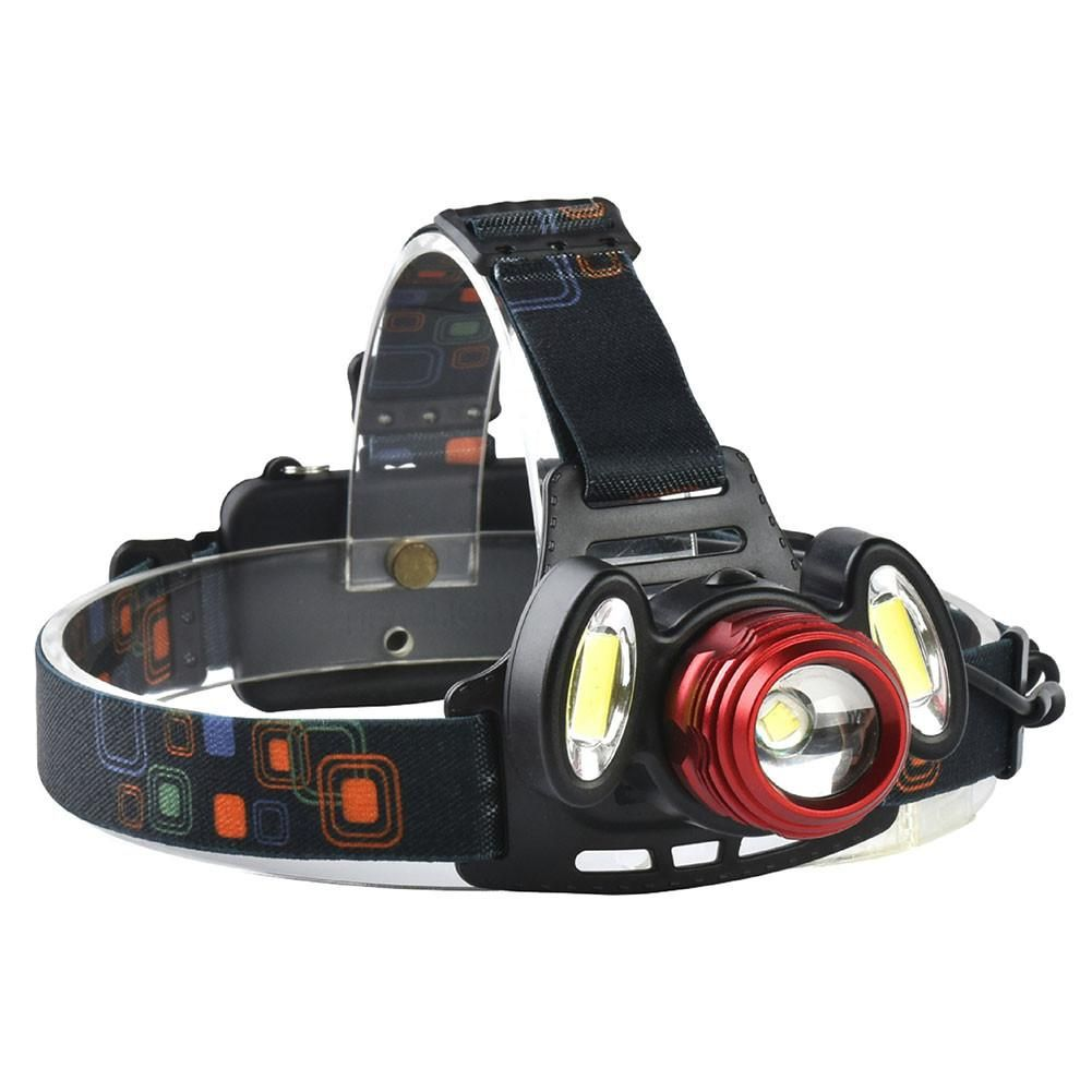 Q5 LED Headlamp Headlight Head Torch Light Zoomable Focus 4 Modes Camping