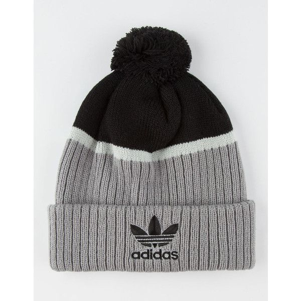 8fc888d46f5 Adidas Fold Up Pom Beanie ( 20) ❤ liked on Polyvore featuring men s  fashion