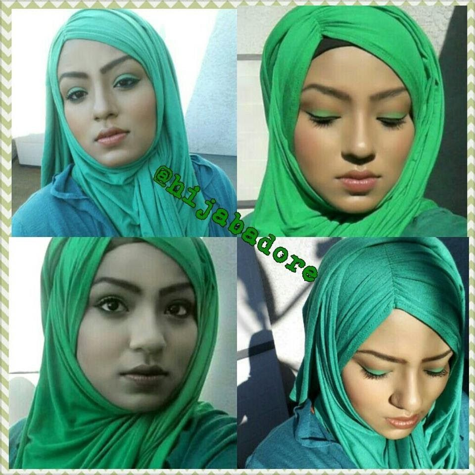 JERSEY HIJAB STYLE TUTORIAL My Space Pinterest Hijab Style