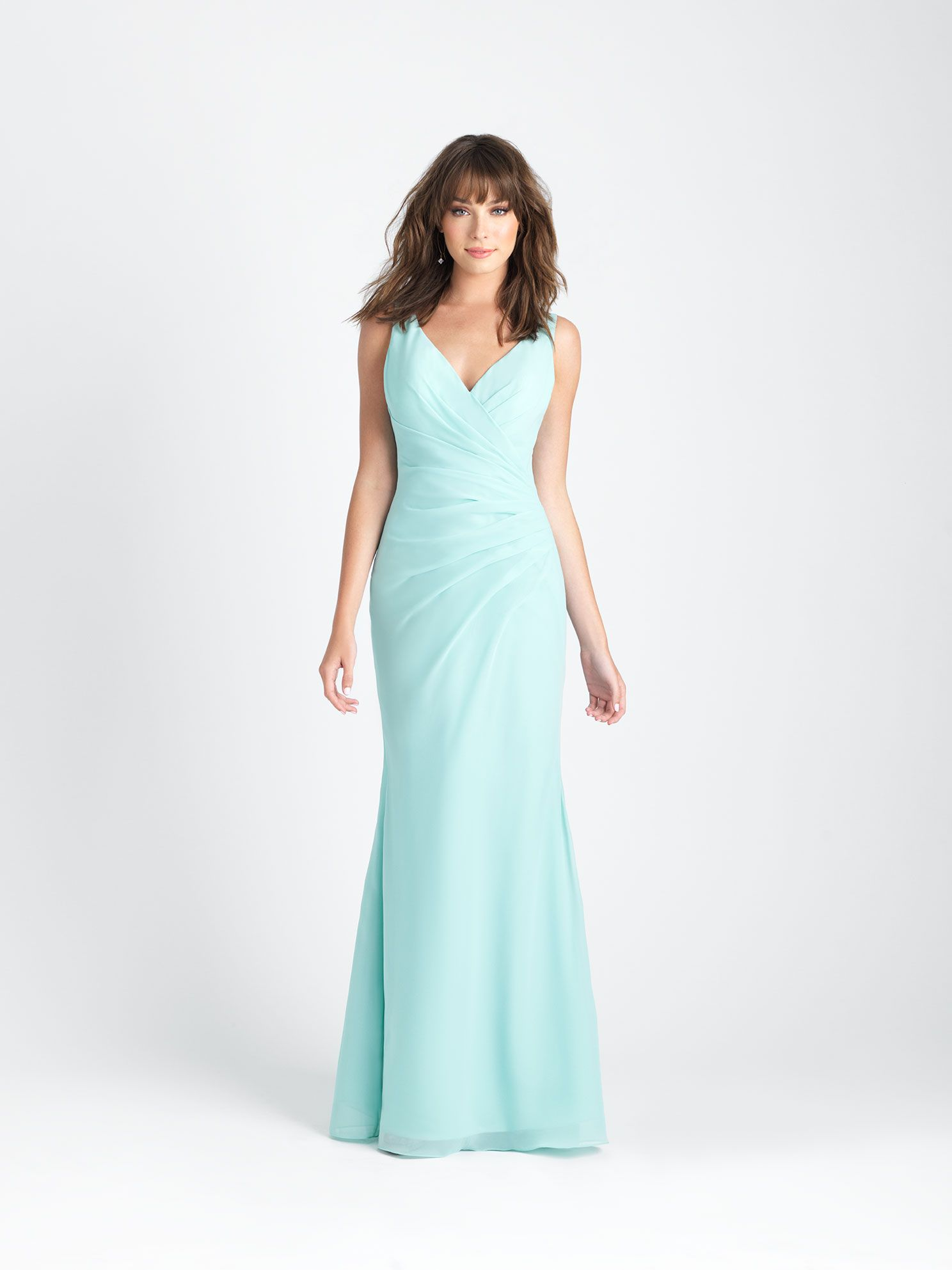 This gown\'s ruched bodice and sweetheart neckline create a gorgeous ...