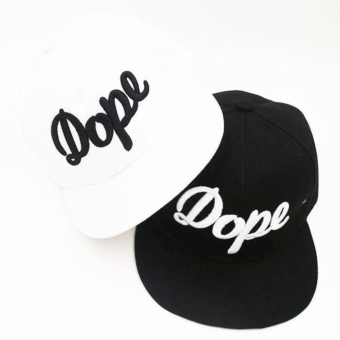 1ee3c72e2d8 Hot selling dope snapback hip hop hat fitted cool baseball caps for men  women white black hat