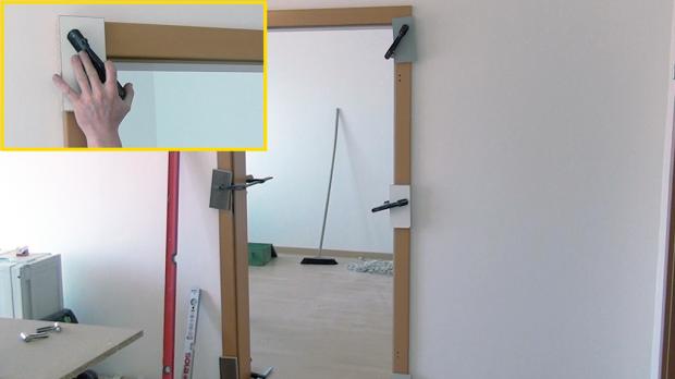 Türzarge einbauen  Tür einbauen, Türzarge einbauen | Eingebaut, Türen und Fenster türen