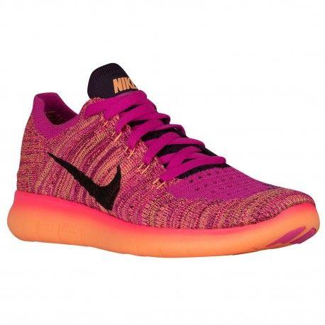 low priced 5adbd 8ce35  84.99 pink and purple nike shoes,Nike Free Run Flyknit - Girls Grade School  -